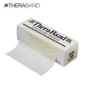 セラバンド タン エクストラシン 合計5.5m 6ヤード トレーニングチューブ リハビリバンド 標準サイズ TheraBand lindsp