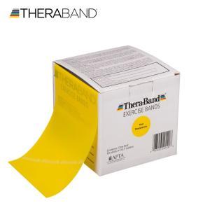セラバンド TheraBand 黄色 イエロー シン トレーニングチューブ バンドタイプ 50ヤード 合計45.7m 徳用サイズ LINDSPORTS リンドスポーツ|lindsp