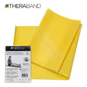 セラバンド TheraBand 1.5mカット バラ売り 黄色 イエロー シン トレーニングチューブ LINDSPORTS リンドスポーツ lindsp