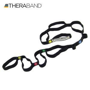 セラバンド TheraBand ストレッチストラップ トレーニングチューブ バンドタイプ 標準サイズ 合計5.5m 6ヤード LINDSPORTS リンドスポーツ|lindsp