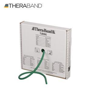 セラバンド TheraBand セラチューブ 緑 グリーン ヘビー 25フィート 合計7.62m 標準サイズ トレーニングチューブ LINDSPORTS リンドスポーツ|lindsp