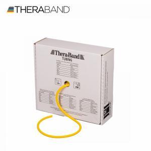 セラバンド セラチューブ 黄色 イエロー シン 合計30.48m 徳用サイズ 100フィート トレーニングチューブ TheraBand lindsp