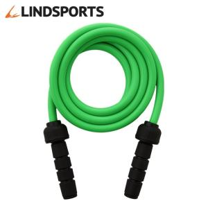 LINDSPORTS ウェイトジャンプロープ 緑・約1kg|lindsp