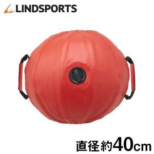 ウォータートレーニングボール ウォーターボール メディシンボール ウォーターバッグ 赤 持ち手あり LINDSPORTS リンドスポーツ|lindsp