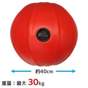 ウォータートレーニングボール ウォーターボール メディシンボール ウォーターバッグ 赤 持ち手無し LINDSPORTS リンドスポーツ|lindsp