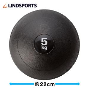 メディシンボール 砂入り やわらか 5kg トレーニングボール ウエイトボール LINDSPORTS リンドスポーツ|lindsp