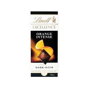 リンツ Lindt タブレットチョコレート エクセレンス  オレンジアーモンド