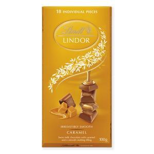 リンツ Lindt チョコレート リンドール キャラメルシングルス