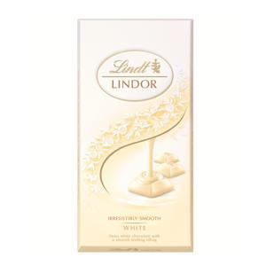 リンツ Lindt タブレットチョコレート リンドール ホワイトシングルス