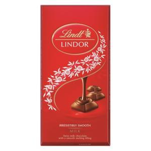 リンツ Lindt タブレットチョコレート リンドール ミルクシングルス