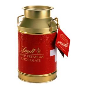 リンツ Lindt チョコレート リンドール ミルク缶