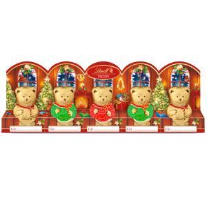 クリスマス お菓子 ギフト 誕生日 ギフトランキング リンツ Lindt チョコレート クリスマス ミニリンツテディ 5x10g
