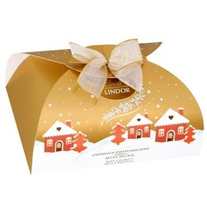 リンツ チョコレート Lindt クリスマス限定 リンドール ゴールドボックス アソート300g