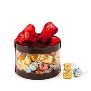 リンツ Lindt チョコレート クリスマス リンドールギフトボックス 50個入り/11種