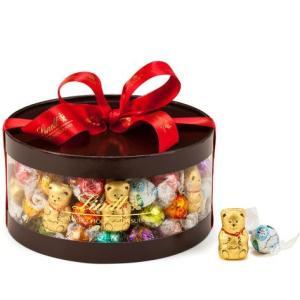 リンツ Lindt チョコレート クリスマス リンドールギフトボックス 100個入り/16種