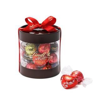 リンツ Lindt チョコレート バレンタイン リンドールギフトボックス25個入り/8種