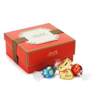 ホワイトデー 2017年 リンツ チョコレート リンドール クラシックギフトボックス11種28個 ミニゴールドバニー入り