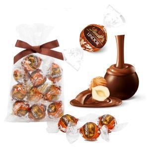 リンツ Lindt チョコレート リンドール ダーク・ジャンドゥーヤ 10個入り