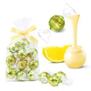 【公式】リンドールに爽やかなシトラスのフレーバー。ホワイトチョコレートのシェルに、レモンとベルガモッ...