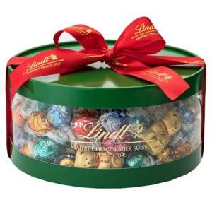 リンツ チョコレート Lindt クリスマス限定 リンドールギフトボックス100個入り