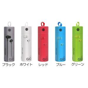 藤本電業 マイク付カラフルイヤホン ブルー|line-mobile