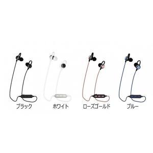 Owltech Bluetooth4.2 IPX4準拠 マグネット付きインナーイヤータイプ 防水ワイヤレスイヤホン ブラック|line-mobile