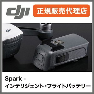 DJI Spark - インテリジェント・フライトバッテリー 正規販売代理店 バッテリー ドローン ドローン用 充電バッテリー  空撮用ドローン|line-mobile