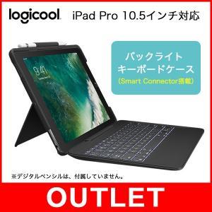 アウトレット ロジクール キーボード iK1092BKA Slim Combo iPad Pro 1...