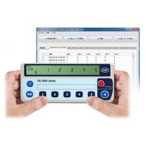 自動記録機能付5連式カウンタ DK-5005C|line
