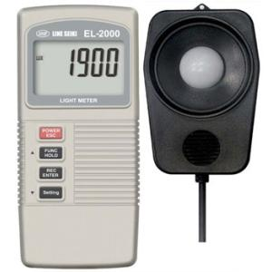 デジタル照度計+温度計|line