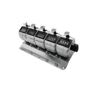 数取器5連式 H-102M-5|line