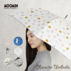 ムーミン リトルミイ 傘 レディース 雨傘 長傘 ジャンプ 60cm ミー キャラクター  グラスファイバー骨 北欧 MOOMIN 母の日 linedrops