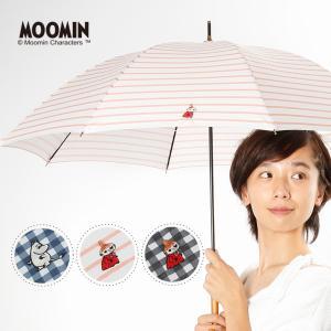 ムーミン リトルミイ 傘 レディース 日傘 晴雨兼用 50cm ミー ワンポイント 刺繍 長傘 北欧 パラソル 大人 女性 紫外線 UVカット MOOMIN 母の日 linedrops