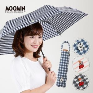 ムーミン リトルミイ 傘 レディース 日傘 晴雨兼用 折りたたみ 50cm ミー ワンポイント 刺繍 UVカット 紫外線 大人用 MOOMIN linedrops