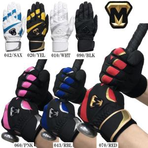 美津和タイガー 野球 バッティンググローブ 手袋 両手用 レボルタイガー アルファ ルーキー|liner