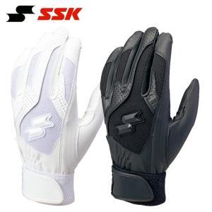 在庫処分価格 合うサイズがあればお得です SSK 野球 バッティンググローブ/手袋 両手用 高校野球対応 liner