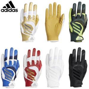 アディダス 野球 5T バッティンググローブ 手袋 グラブ 両手用 GLJ29|liner