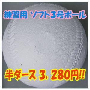 ナガセケンコー スリケン(検定落ち) ソフトボール3号ボール コルク 練習用半ダース(6個入り)|liner