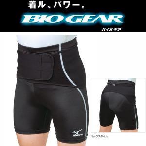 ミズノ スポーツ用バイオギアサポーター 腰用 スパッツ一体型 liner