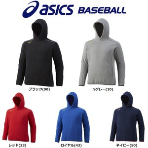 アシックス asics 野球 フリースパーカー|liner