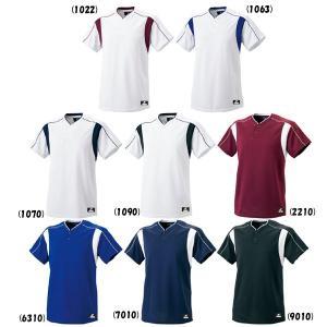 SSK 野球 2ボタンベースボールTシャツ liner