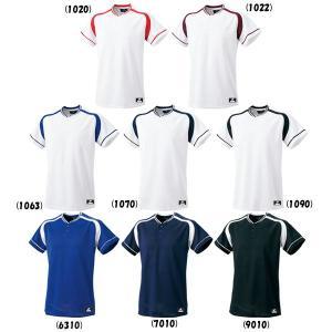 SSK 野球 2ボタンプレゲームシャツ ジュニア用 liner