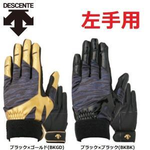 デサント 野球 パッド付き守備用手袋 左手用|liner