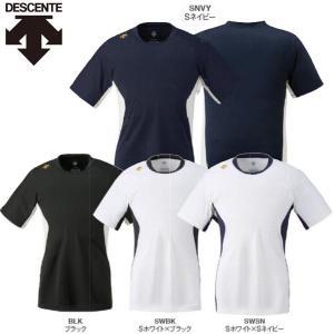 デサント 野球 ベースボールシャツ ネイキッドシャツ フィットシルエット liner
