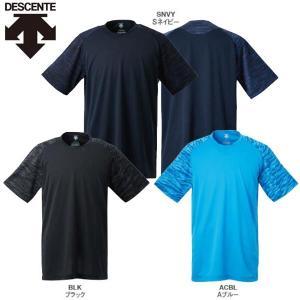 デサント 野球 ベースボールシャツ レギュラーシルエット liner