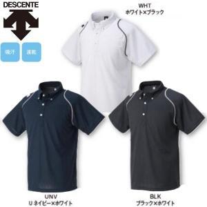 デサント 野球 ボタンダウンポロシャツ liner