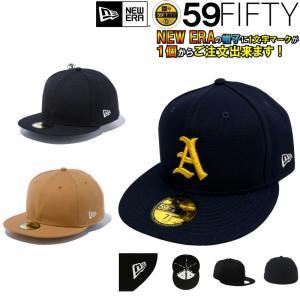 【到着後レビューで送料無料】1文字1色刺繍マーク付き キャップ野球用帽子  NEWERA ニューエラ Original Basic 59Fifty|liner