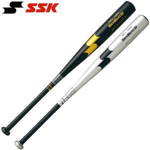 SSK 野球 硬式金属バット 超々ジュラルミン ミドルバランス スカイビート31 WF-L 振動減衰...