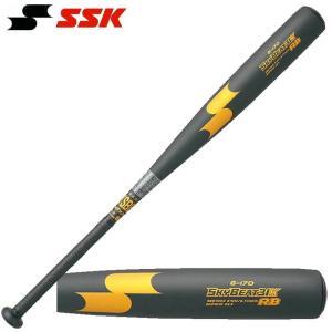 SSK 野球 軟式金属バット スカイビート31K RB 超々ジュラルミン  振動減衰グリップテープを...