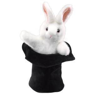 シルクハットウサギ ハンドパペット|lineshonpo